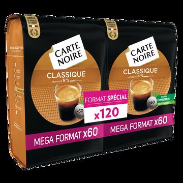 Carte Noire Café Classique Carte Noire, 120 Dossettes