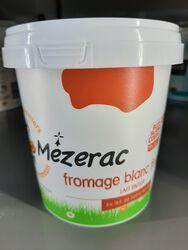 Fromage Blanc au lait entier, Ferme de Mezerac, 500g