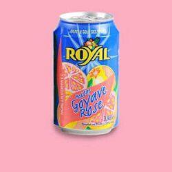 Boisson à la goyave rose, ROYAL, le pack de 6x33cl