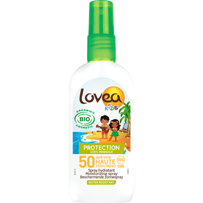 "Spray solaire Kids SPF 50 bio ""Disney"" LOVEA, 100ml"