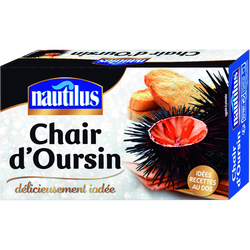 Chair d'oursin NAUTILUS, boite de 75g