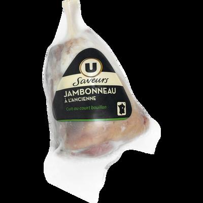 Jambonneau à l'ancienne U SAVEURS, 400g