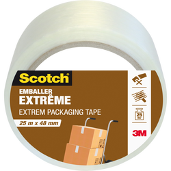Emballage extrême SCOTCH, 25mx48mm, transparent