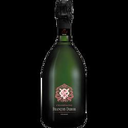 Champagne brut rosé François Dubois 1767 Pur Rosé, bouteille de 75cl