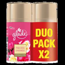 Glade Recharge Pink Rose & Meringue , 2 Sprays