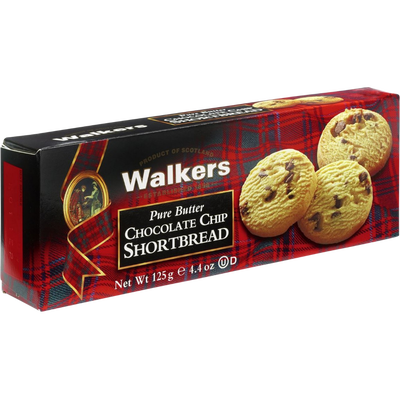 Biscuits Chocolate Chip Shortbread WALKERS, 125g
