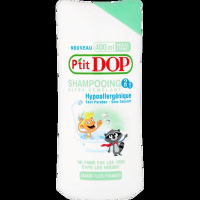 Shampooing pour enfant amande et fleur d'oranger P'TIT DOP, 400ml