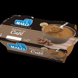 Mousse au café MALO, 2x80g