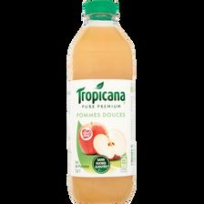 Jus de pomme douce pink lady TROPICANA, bouteille de 1l