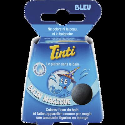 Balle de bain magique bleu TINTI
