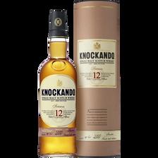 Scotch whisky single malt KNOCKANDO, 43°, 12 ans d'âge, bouteille de 70cl sous étui