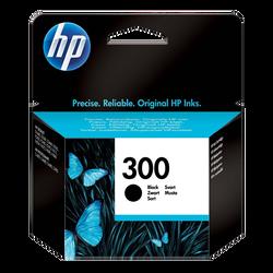 Cartouche d'encre HP pour imprimante, CC640EE noir n°300, sous blister