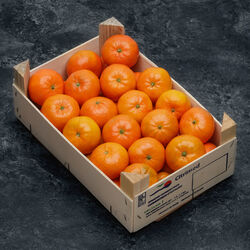 Mandarine Nadorcott, calibre 3/4, catégorie 1, Espagne, plateau 2,3kg