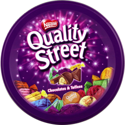 Assortiment de chocolats et toffees QUALITY STREET, 480g