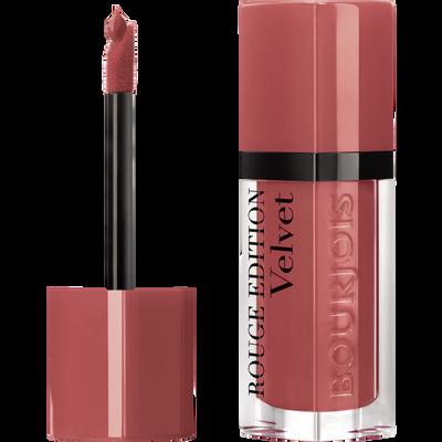 Rouge à lèvres édition velvet peach club BOURJOIS