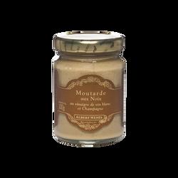 Moutarde aux noix, au vinaigre de vin blanc et Champagne ALBERT MENES, 100g