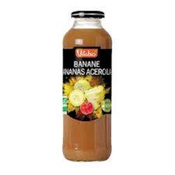 Pur jus de Pomme Orange Banane Ananas Acérola bio Vitagermine 50cl