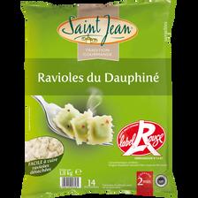 Ravioles du Dauphiné Label Rouge IGP surgelées SAINT JEAN sachet 1.8kg