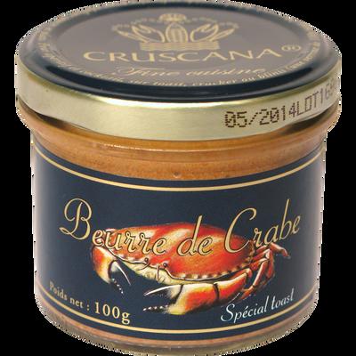 Beurre de crabe CRUSCANA, verrine de 100g
