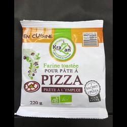 Farine toastée pour pâte à pizza bio KRAZAN sachet 220G