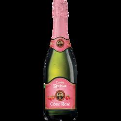 Cidre rosé cuvée KERISAC, 3°, 75cl