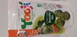 Purée lisse bio brocolis morceaux dès 9 mois YOOJI 480g
