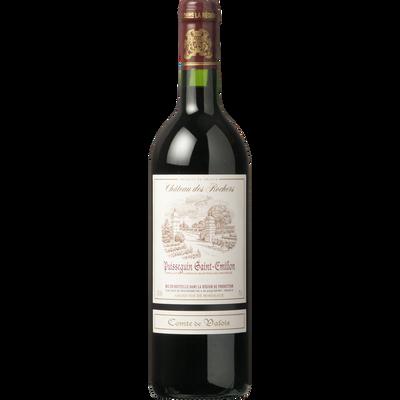 Vin rouge AOP Puisseguin St Emilion Comté de Valois, bouteille de 75cl