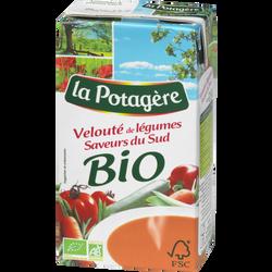 Velouté bio de légumes saveur du sud LA POTAGERE, 1l