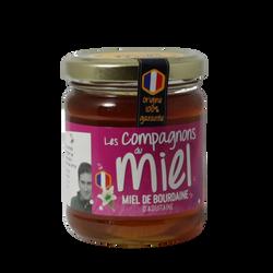 Miel de Bourdaine d'Aquitaine COMPAGNONS DU MIEL, 250g