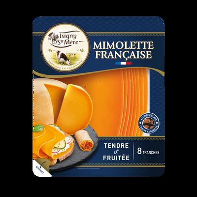 Mimolette française tendre & fruitée au lait pasteurisé ISIGNY SAINTEMÈRE, 24% de MG, 150g