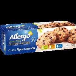Cookies aux pépites chocolat sans gluten ALLERGO, 150g
