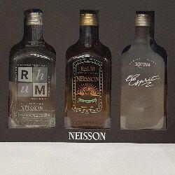 Rhum agricole, le coffret NEISSON de 3 bouteilles de 20cl