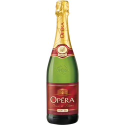 Vin mousseux demi-sec OPERA, 75cl