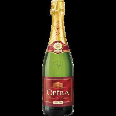 Vin mousseux demi-sec OPERA, bouteille de 75cl