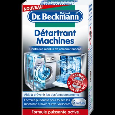 Détartrant machines poudre DR BECKMANN, sachet,DR BECKMANN,2x50g
