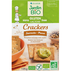 JB CRACKERS SARRASIN PAVOT SG