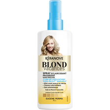 "Spray éclaircissant sans rinçage ""Blond Vacances"" KERANOVE,125ml"
