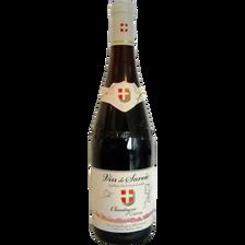 Vin rouge AOC de Savoie Gamay Chautagne, 75cl