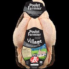 Poulet fermier Noir de Vendée Village, MAITRE COQ, France, 1 pièce 1,5 kg