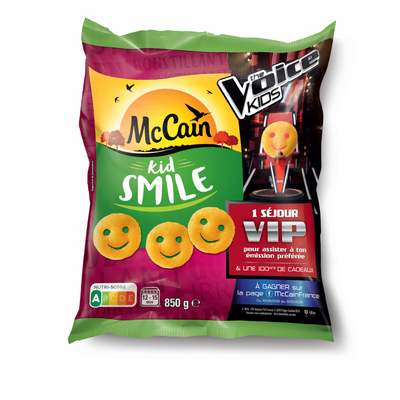 Kid smile MC CAIN, 850g