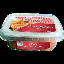 Préparé américain (Préparation à base de viande) SIMON DUTRIAUX, 150g