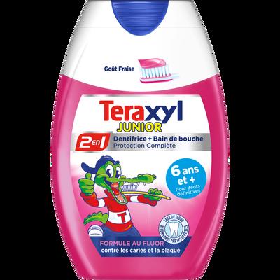Dentifrice liquide 2 en 1 junior TERAXYL, 75ml