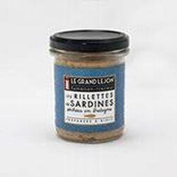 LES RILLETTES DE SARDINES - pêchées en Breatgne - LE GRAND LEJON