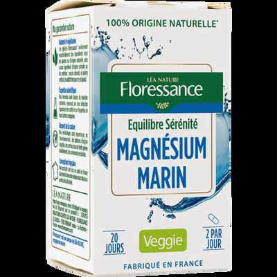 Magnesium marin FLORESSANCE x40 gélules végétales