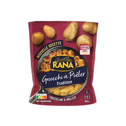 Gnocchis à poëler tradition RANA, sachet de 300g