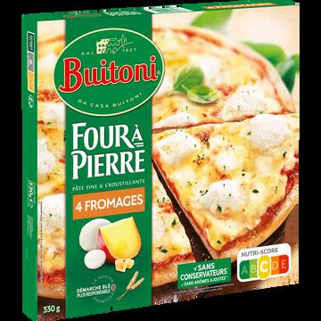 Buitoni Four À Pierre Pizza 4 Fromages Buitoni, 330g