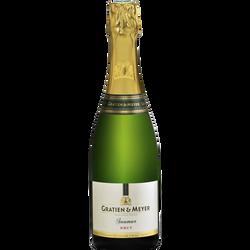 Vin blanc AOP brut Saumur GRATIEN & MEYER, 75cl