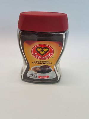CAFE SOLUBLE 50G 3 CORACOES