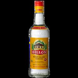 Rhum blanc agricole AOC de la Martinique DILLON, 40°, bouteille de 70cl