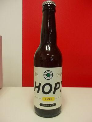 HOP ! LAGER Bière artisanale